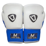 DMB Blue G3 Leather Boxing Gloves
