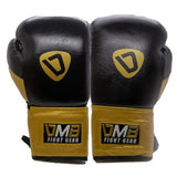 DMB Gold G3 Leather Boxing Gloves