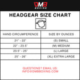 Head Guard Sizing Chart