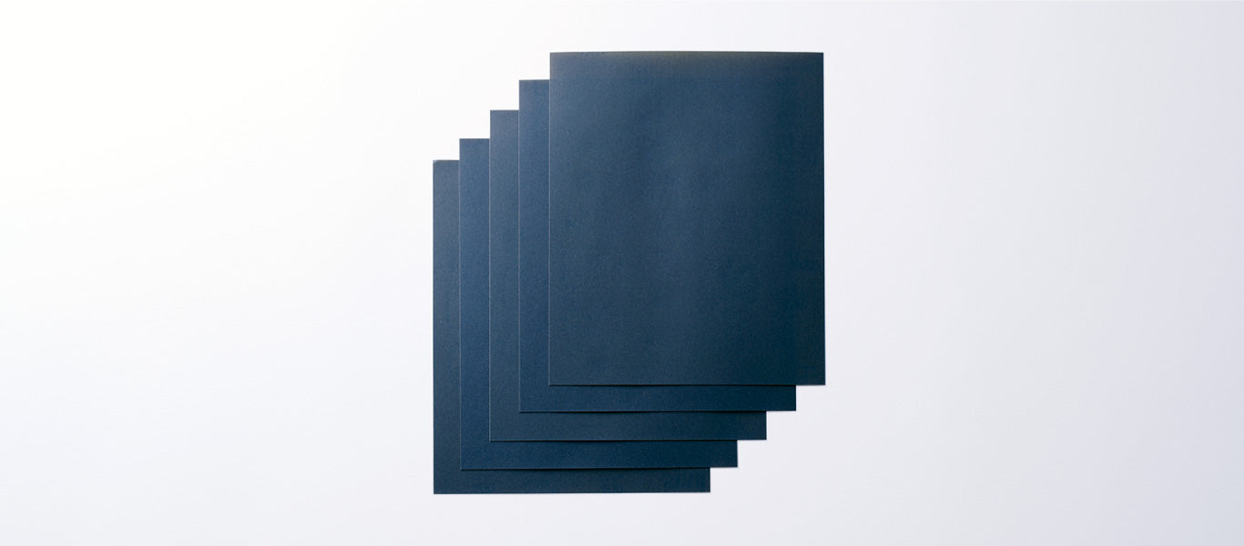 Water Resistant Sandpaper (5 sheets)