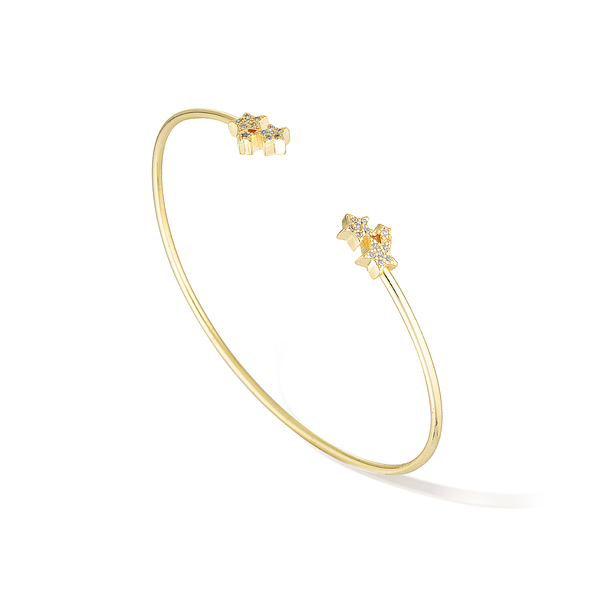 Petite Estelle Cuff - Yellow Gold