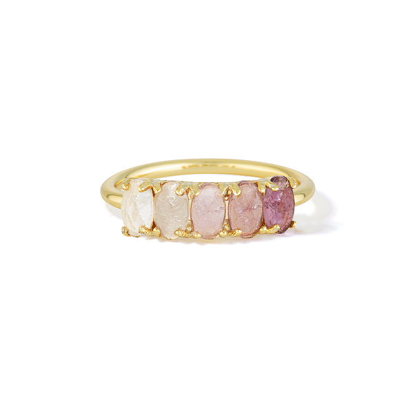 Intuition of Royalties - February Birthstone Ring (Amethyst)