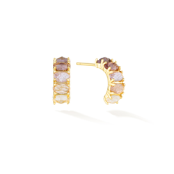 Intuition of Royalties - February Birthstone Earrings (Amethyst)
