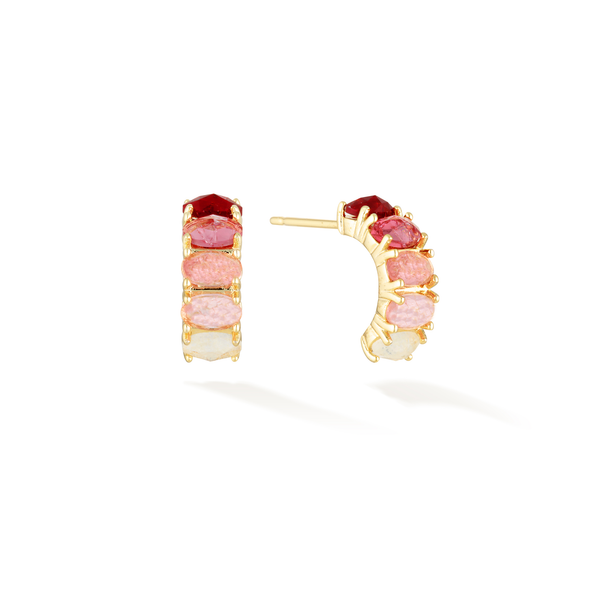 Passion of Life - July Birthstone Earrings (Ruby)