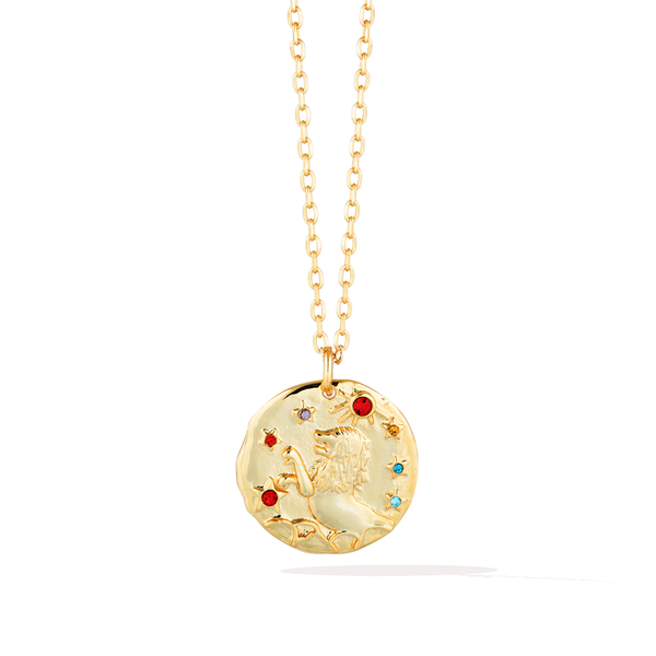 Zodiac Baroque Necklace - Leo