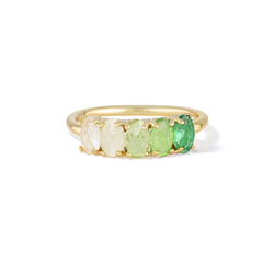 Heart of Wisdom - May Birthstone Ring (Emerald)