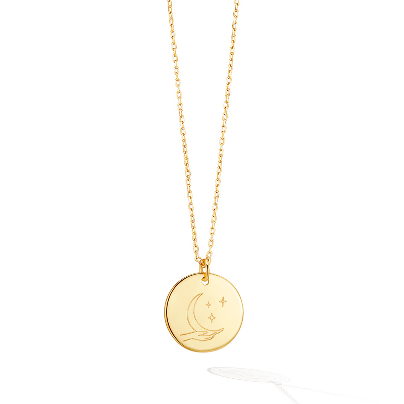 Talisman Moon Child Necklace