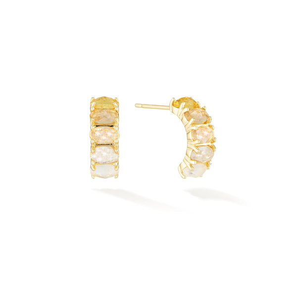 Energetic Beginnings - November Birthstone Earrings (Citrine)