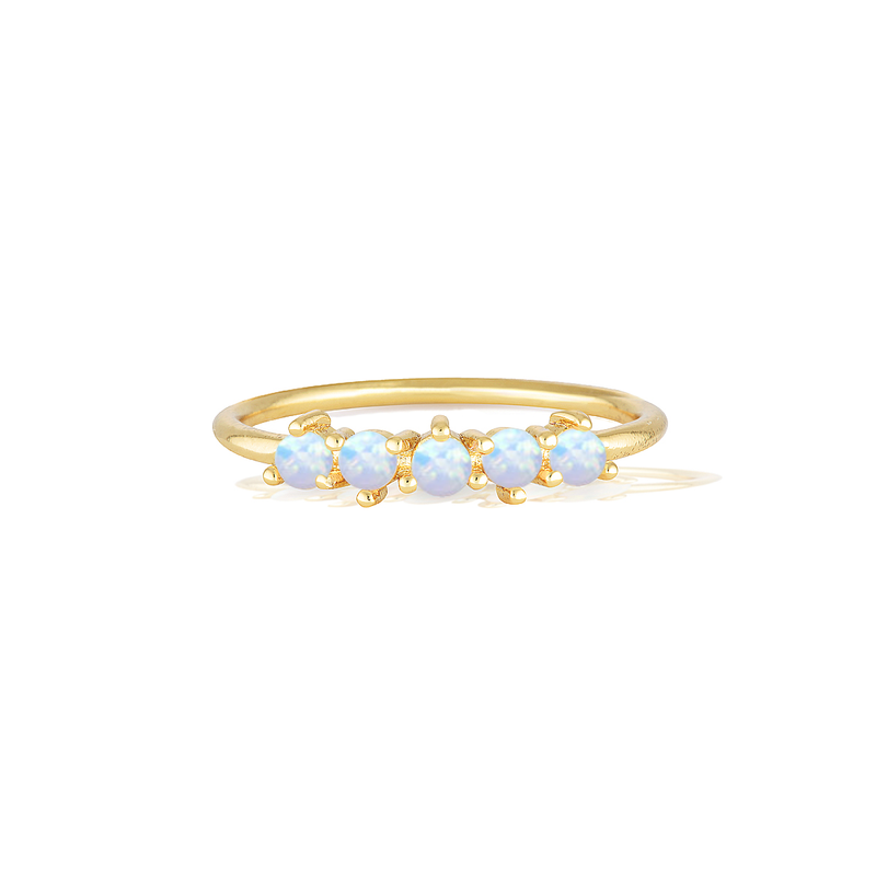 Jewels by the Bahamas Ring - Yellow Gold