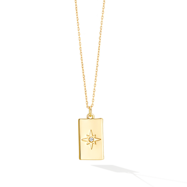 Stars Seeker Signet Necklace