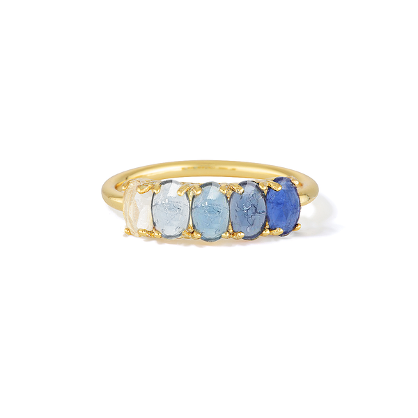 Awaken Intelligence - September Birthstone Ring (Sapphire)