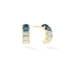 Awaken Intelligence - September Birthstone Earrings (Sapphire)