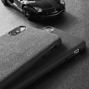 Car Logo Alcantara Case for Iphone 11 /11Pro /11Max -  - TrendGadgetsHome
