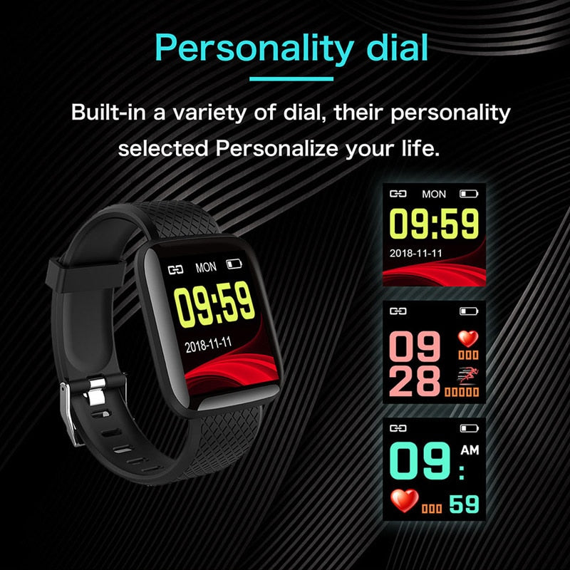 New Generation Smartwatch (Heart Rate, Blood Pressure, Steps and many more) -  - TrendGadgetsHome