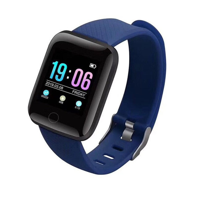 New Generation Smartwatch (Heart Rate, Blood Pressure, Steps and many more) - Blue - TrendGadgetsHome
