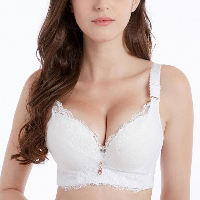 Push Up Padded Bra - White / 90d - TrendGadgetsHome