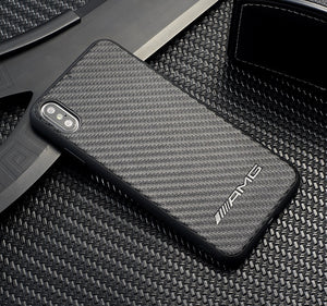 Carbon Fiber Car Logo Case for Iphone -  - TrendGadgetsHome