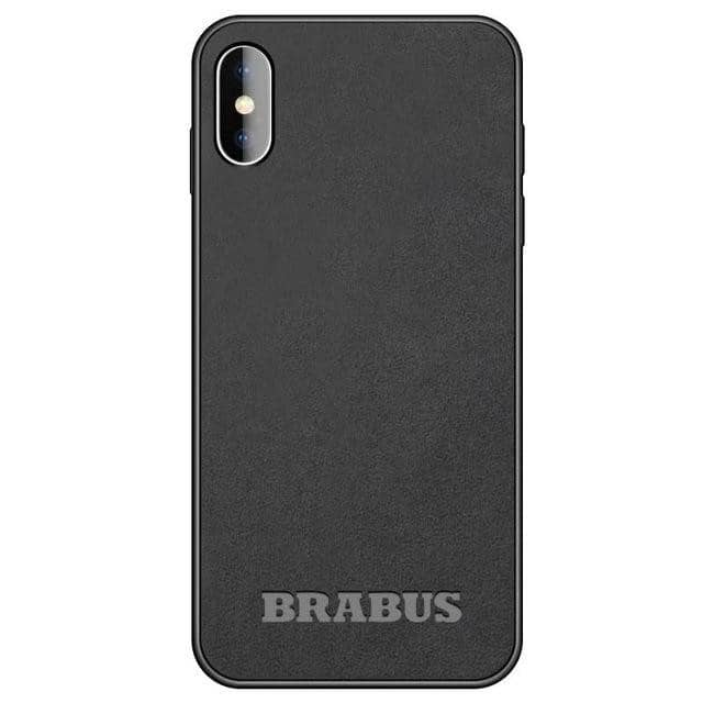 Car Logo Alcantara Case for Huawei Mate 20/20 Pro / P20/P20 Pro - BRABUS / for P20 Pro - TrendGadgetsHome