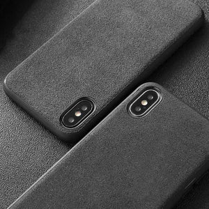 Car Logo Alcantara Case for Iphone X/XR/XS/XS Max -  - TrendGadgetsHome