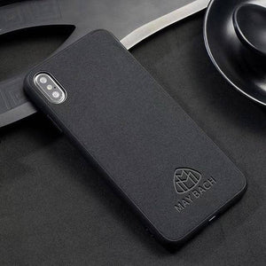 Car Logo Alcantara Case for Iphone 8/8 Plus -  - TrendGadgetsHome