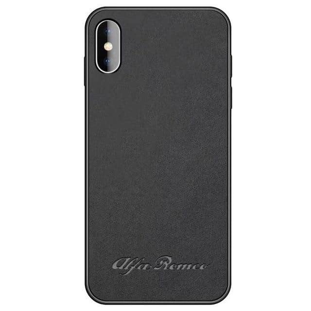 Car Logo Alcantara Case for Iphone 8/8 Plus - Alfa Romeo / for iphone 8plus - TrendGadgetsHome