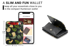 Magic Coin Wallet RFID Hunterson - Banana - 2