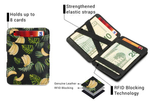 Magic Coin Wallet RFID Hunterson - Banana - 3