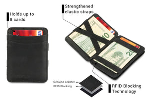 Magic Coin Wallet RFID Hunterson - Black - 3