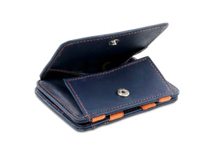 Magic Coin Wallet RFID Hunterson - Blue-Orange - 0