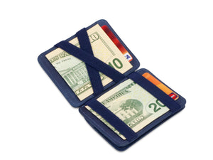 Magic Coin Wallet RFID Hunterson - Blue - 1