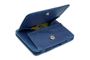 Magic Coin Wallet RFID Hunterson - Blue - 0