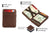 Magic Coin Wallet RFID Hunterson - Brown - 3