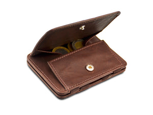 Magic Coin Wallet RFID Hunterson - Brown - 0