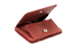 Magic Coin Wallet RFID Hunterson - Burgundy - 0