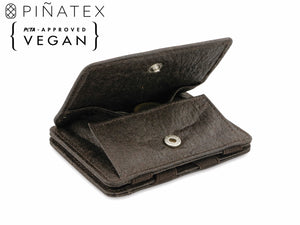 Hunterson Vegan RFID Magic Coin Wallet - Chestnut - 1