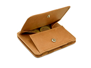 Magic Coin Wallet RFID Hunterson - Cognac - 0