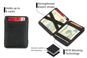 Magic Coin Wallet RFID Hunterson - Carbon - 3
