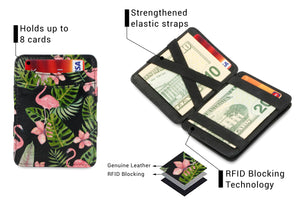 Magic Coin Wallet RFID Hunterson - Flamingo - 3