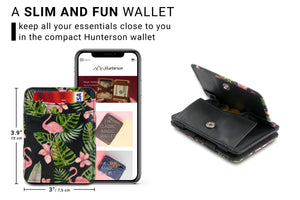 Magic Coin Wallet RFID Hunterson - Flamingo - 2