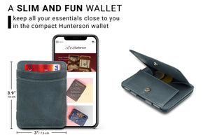 Magic Coin Wallet RFID Hunterson - Grey - 2