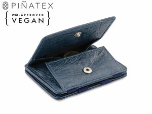 Hunterson Vegan RFID Magic Coin Wallet - Marine - 1