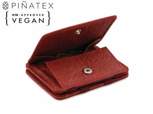 Hunterson Vegan RFID Magic Coin Wallet - Mulberry - 1