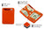 Magic Coin Wallet RFID Hunterson - Orange - 3