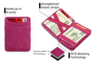 Magic Coin Wallet RFID Hunterson - Raspberry - 3