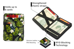Magic Coin Wallet RFID Hunterson - Toucan - 3