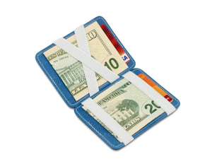 Magic Wallet RFID Hunterson - Azur-White - 1