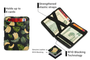Magic Wallet RFID Hunterson - Banana - 3