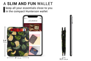 Magic Wallet RFID Hunterson - Banana - 2