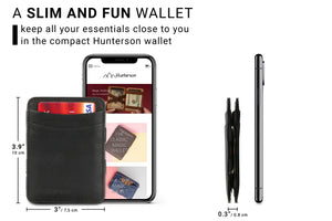 Magic Wallet RFID Hunterson - Black - 2