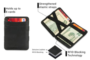 Magic Wallet RFID Hunterson - Black - 3